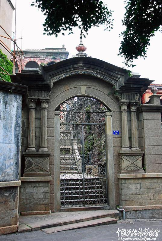 古式大门效果图图片大全 古式大门建筑 图片素材 风景名